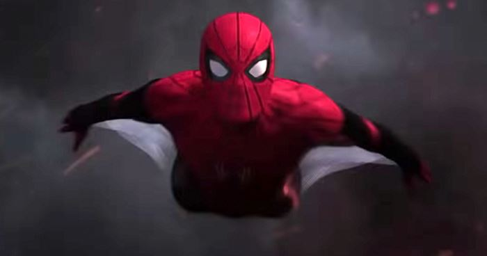 Flying Spiderman
